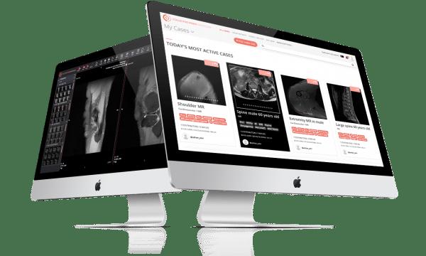 CMRad webbaserat stöd för att tyda röntgenbilder